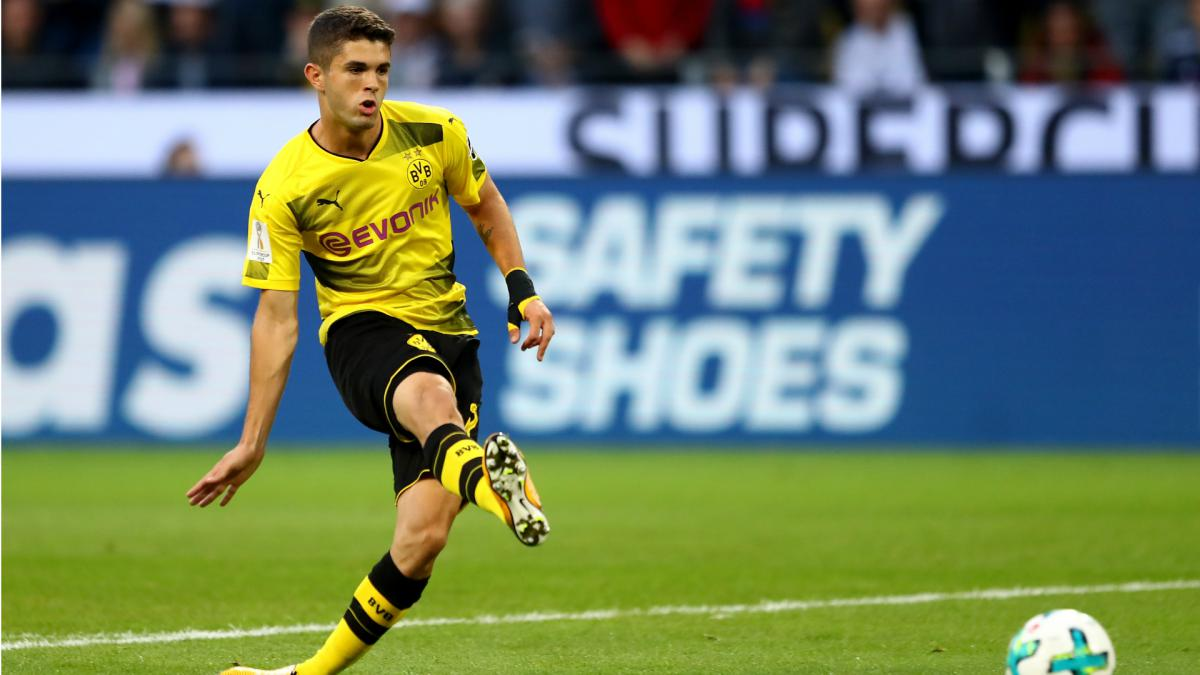 Blues eye £65m Christian Pulisic as Borussia Dortmund prepare to sell