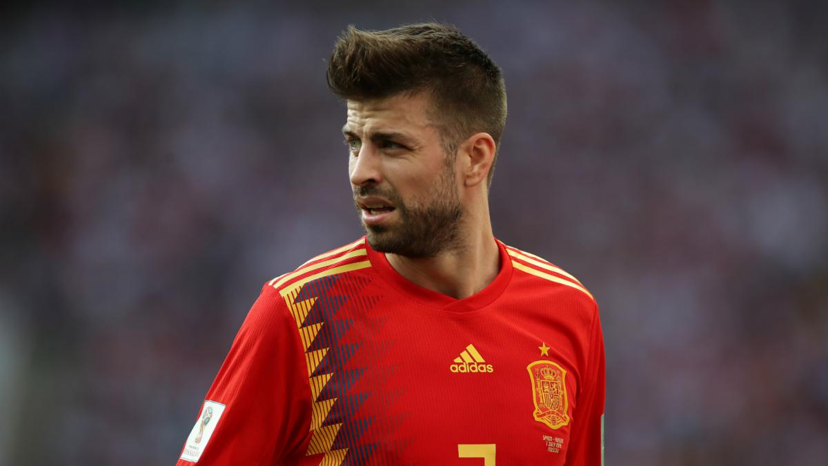 Gerard Pique retires from Spain duty