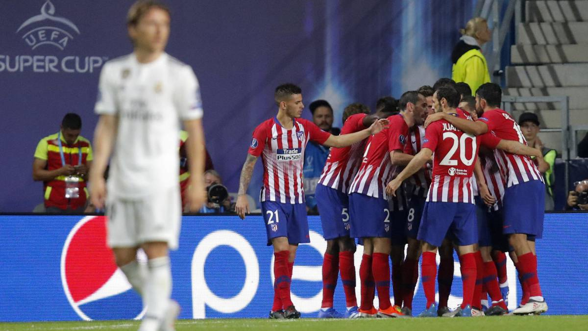 Super Cup 2018  Real Madrid 2-4 Atlético - match report c025fb1cb422d
