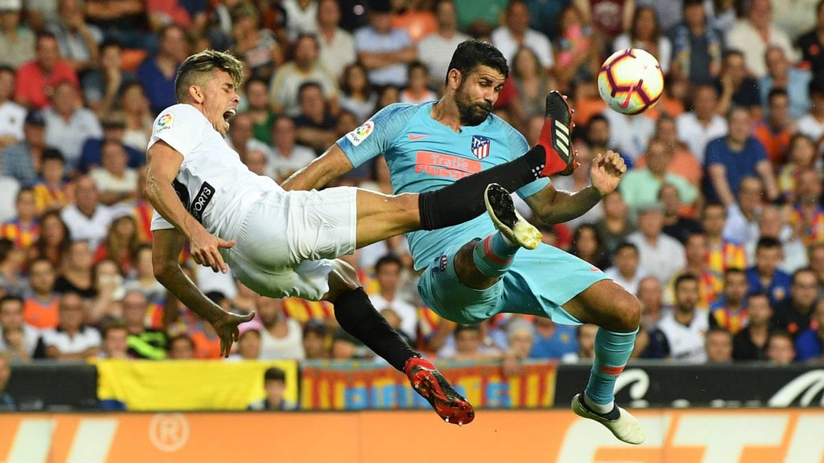 Valencia - Atlético Madrid live online  LaLiga 2018 19 week 1 b89dd2ba4