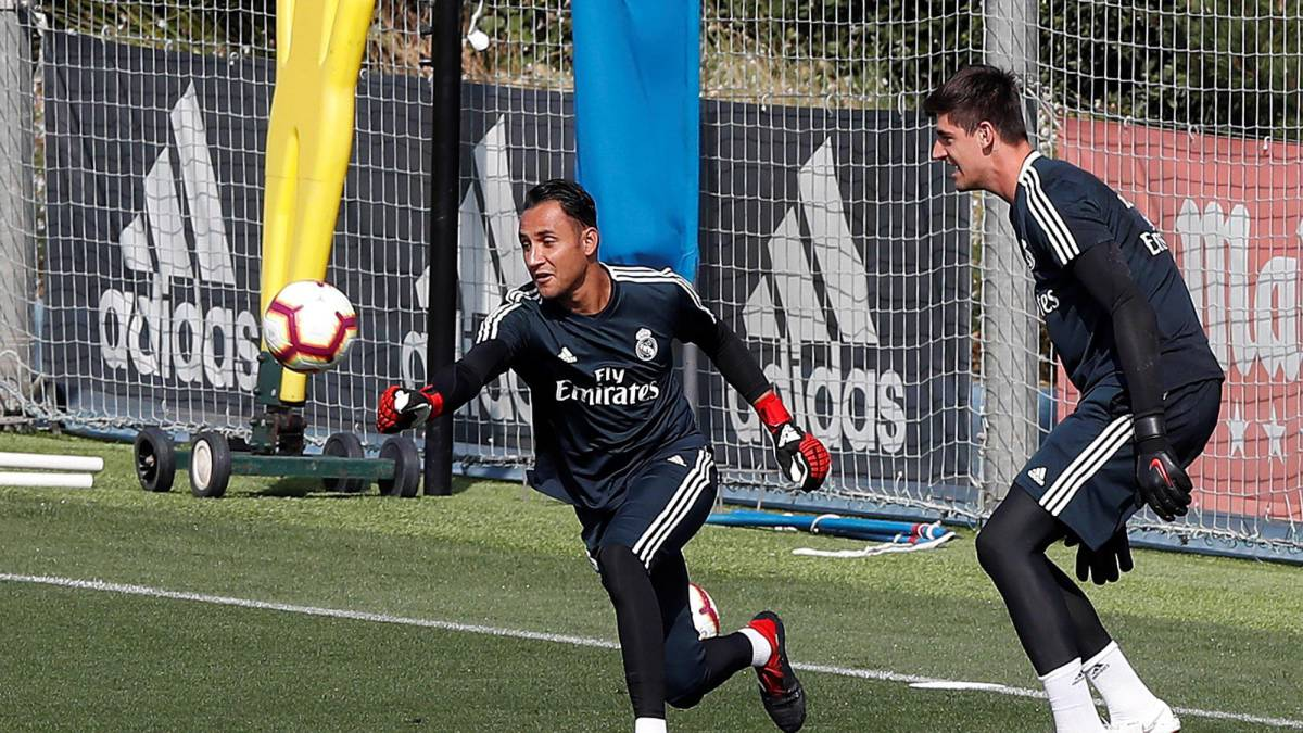 Real Madrid boss Julen Lopetegui hails the 'great competition' in goal
