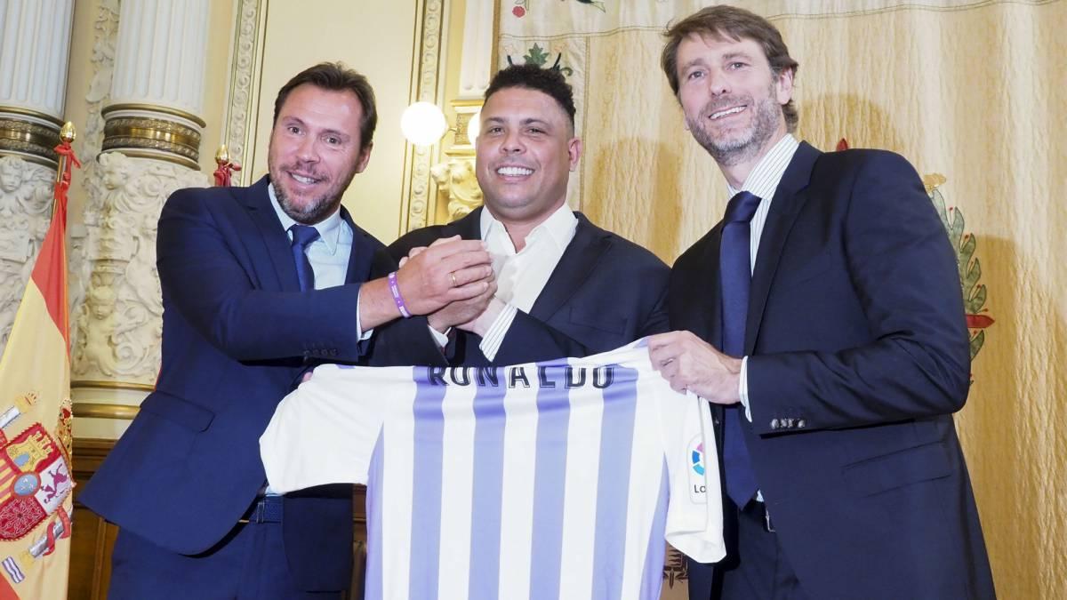 Ronaldo buys 51 percent of Real Valladolid