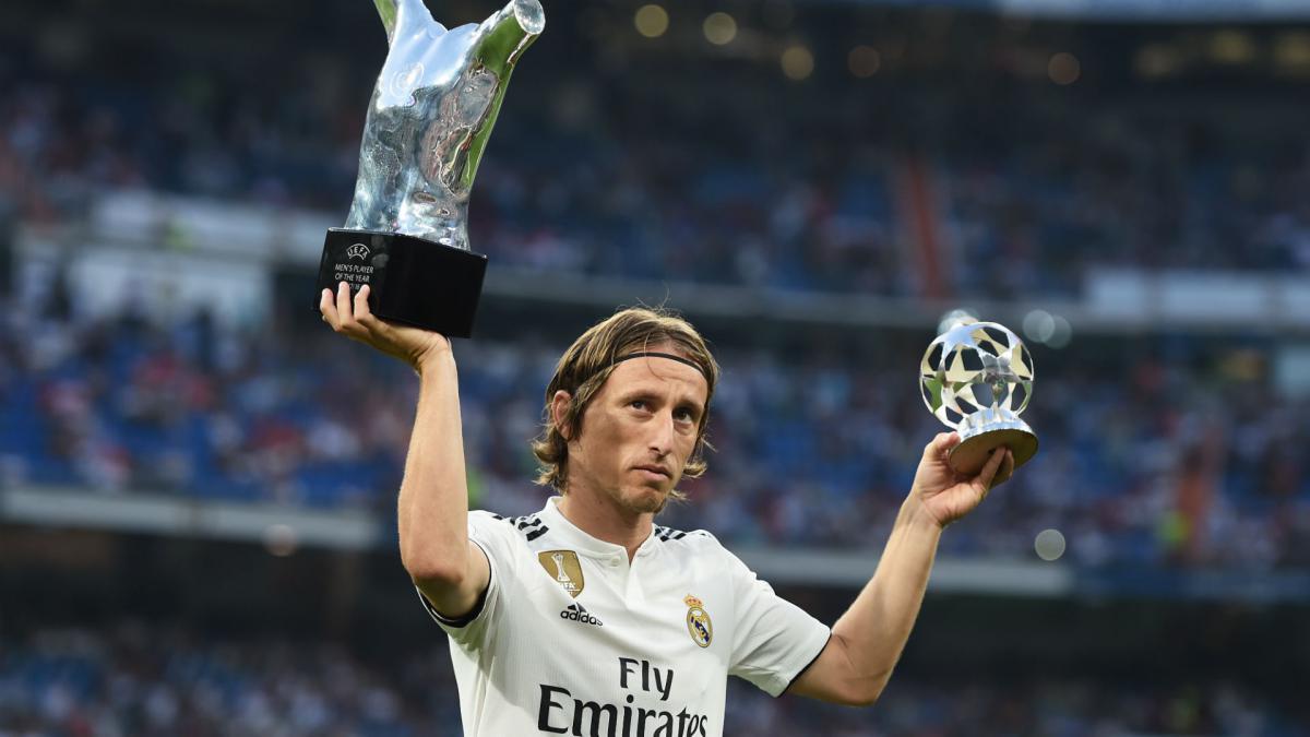 f5de2d4db Modric deserved UEFA award over Ronaldo
