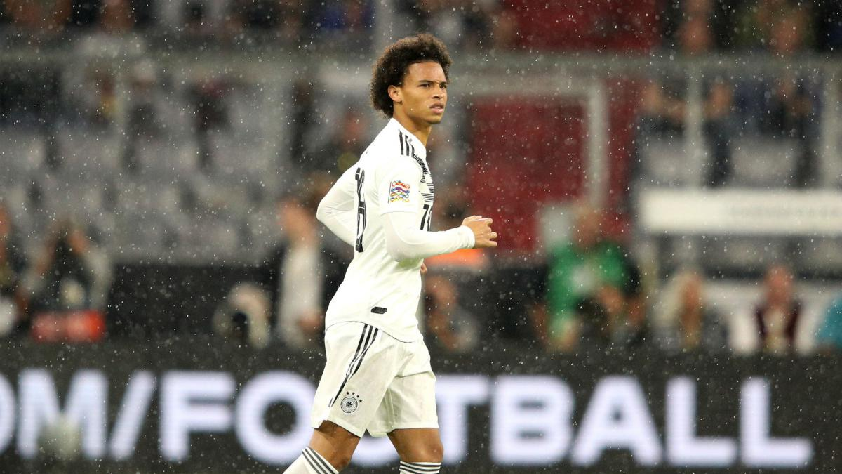 Sane withdraws from Germany squad