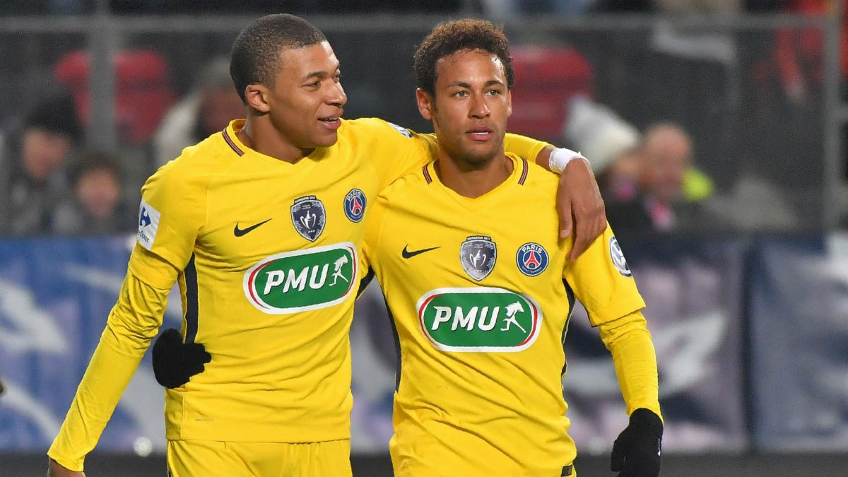 Diego Simeone says he prefers Neymar to Kylian Mbappe
