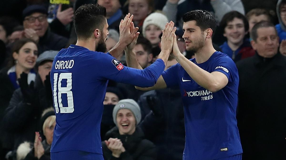 Eden Hazard talks up Chelsea teammate Olivier Giroud