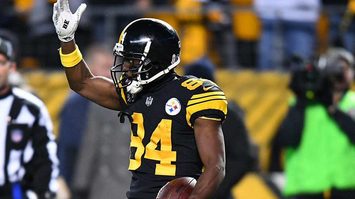 Antonio Brown Wasn't At The Steelers Facility For Monday Meetings