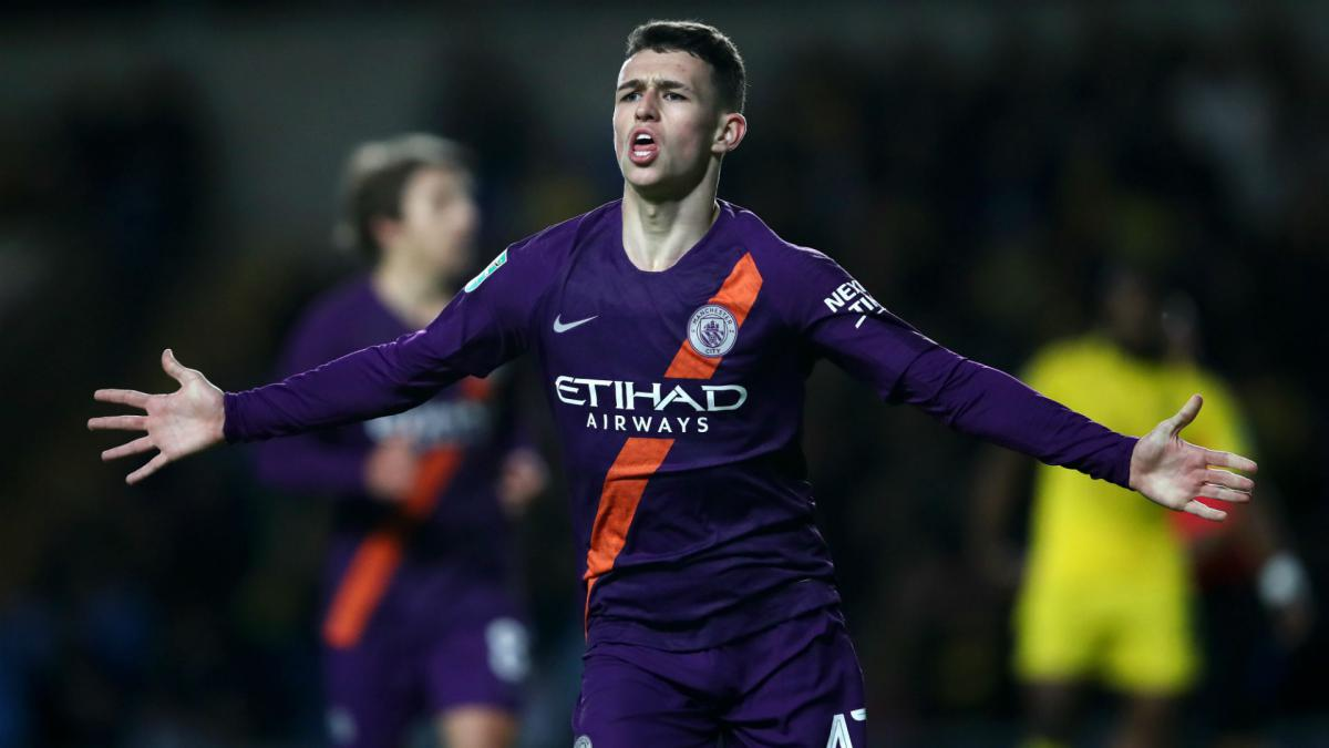 Phil Foden gets maiden England Under-21 call-up