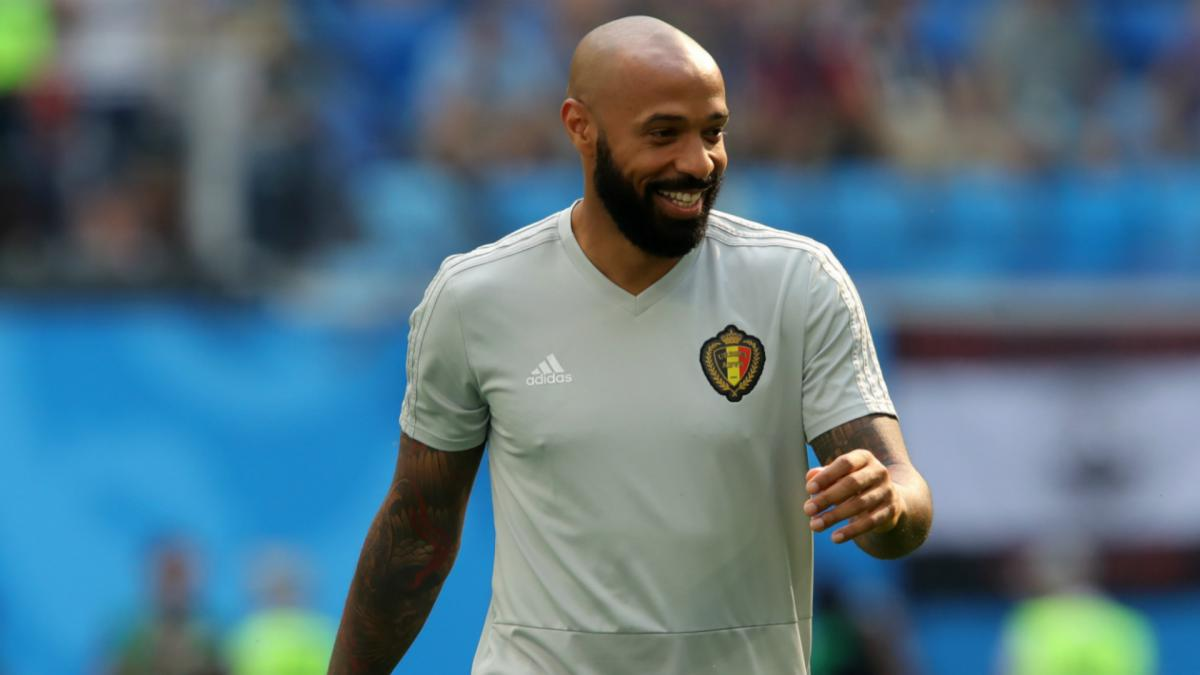 Henry ready to be a head coach says Belgium boss Martínez