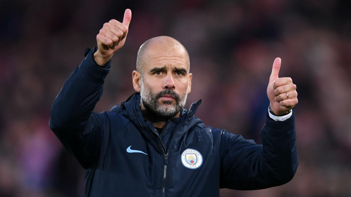 Manchester City's Pep Guardiola: Any of top five can win Premier League