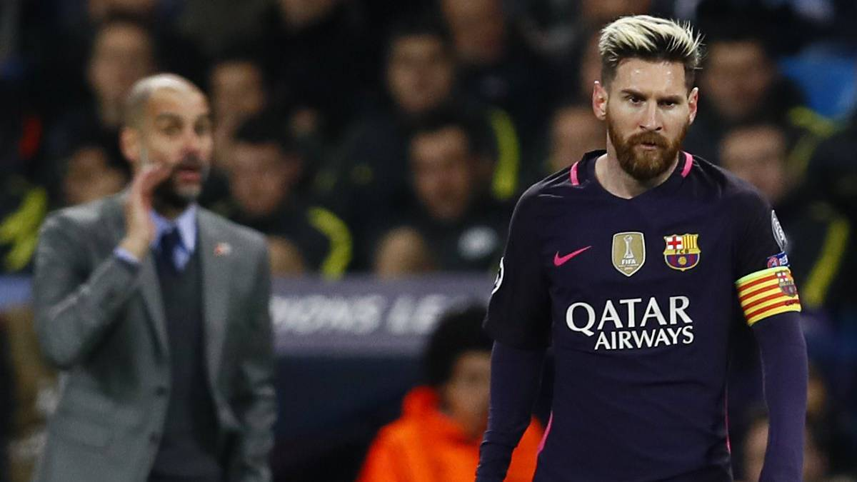 EPL: Guardiola speaks on signing Messi from Barcelona