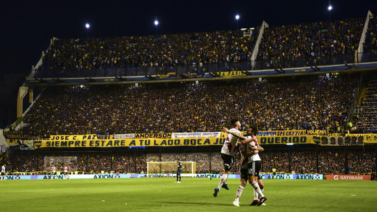 Copa Libertadores final: Boca v River first leg postponed after torrential rain