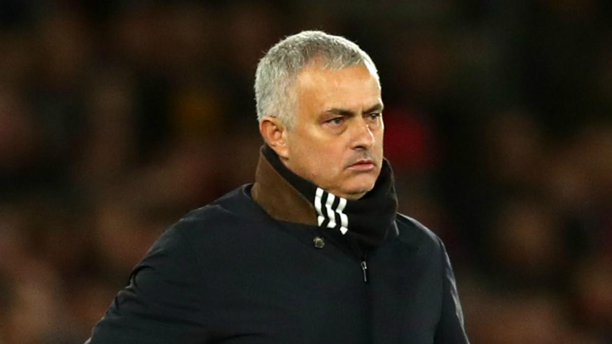 Mourinho admits his Manchester United's 'target' has now changed