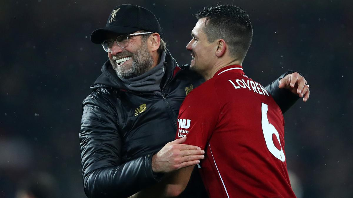 Dejan Lovren Believes Liverpool Can Emulate Arsenal's 'Invincibles'