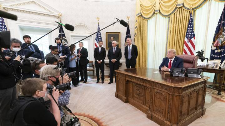 White House looking at winding down coronavirus task force, Pence says
