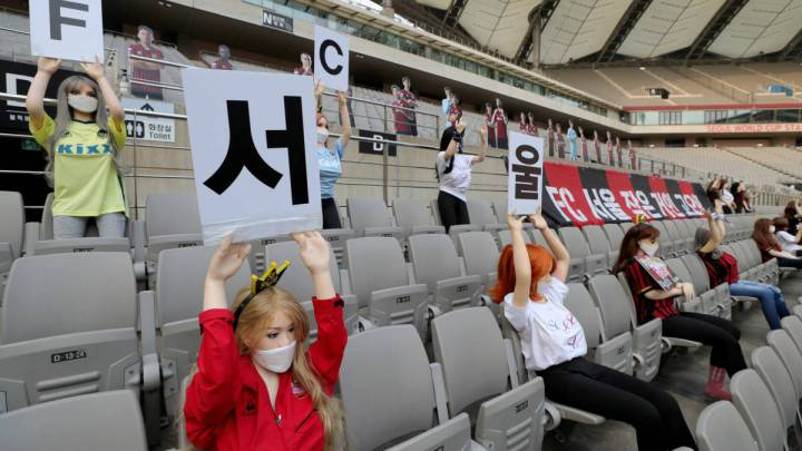 South Korean football league to investigate 'sex doll' row