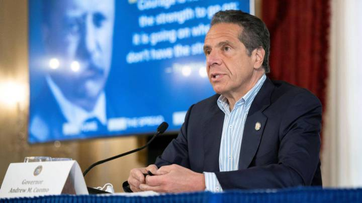 Andrew Cuomo: New York's One-Day Coronavirus Death Toll Below 100