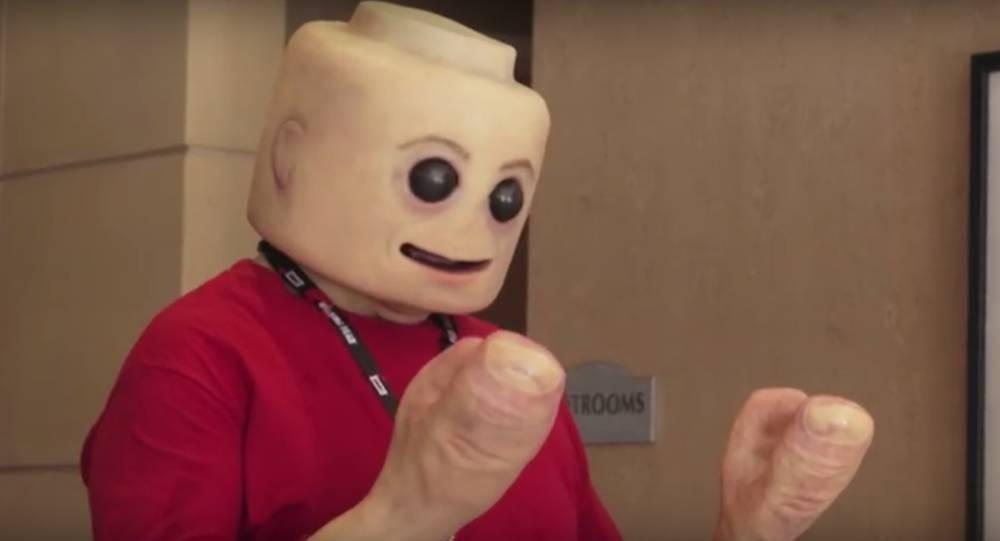 Versión humana?: Así sería una figura de Lego de carne y hueso - AS.com