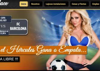 Copas gratis en un club de alterne gracias al tropiezo del Barça
