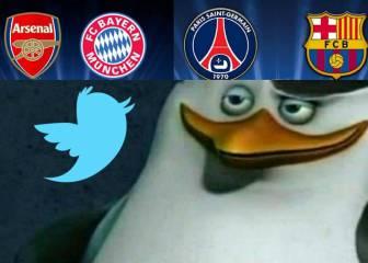 Las mejores tuits sobre el sorteo de la Champions