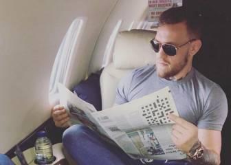 Algo raro pasa en esta foto de Conor McGregor que está haciendo reír a Twitter