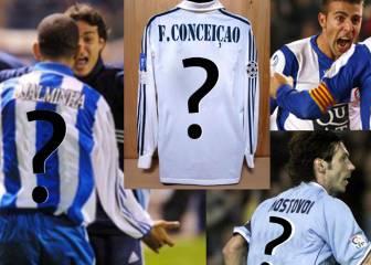 Test: ¿Puedes adivinar los dorsales de estos futbolistas míticos de La Liga?