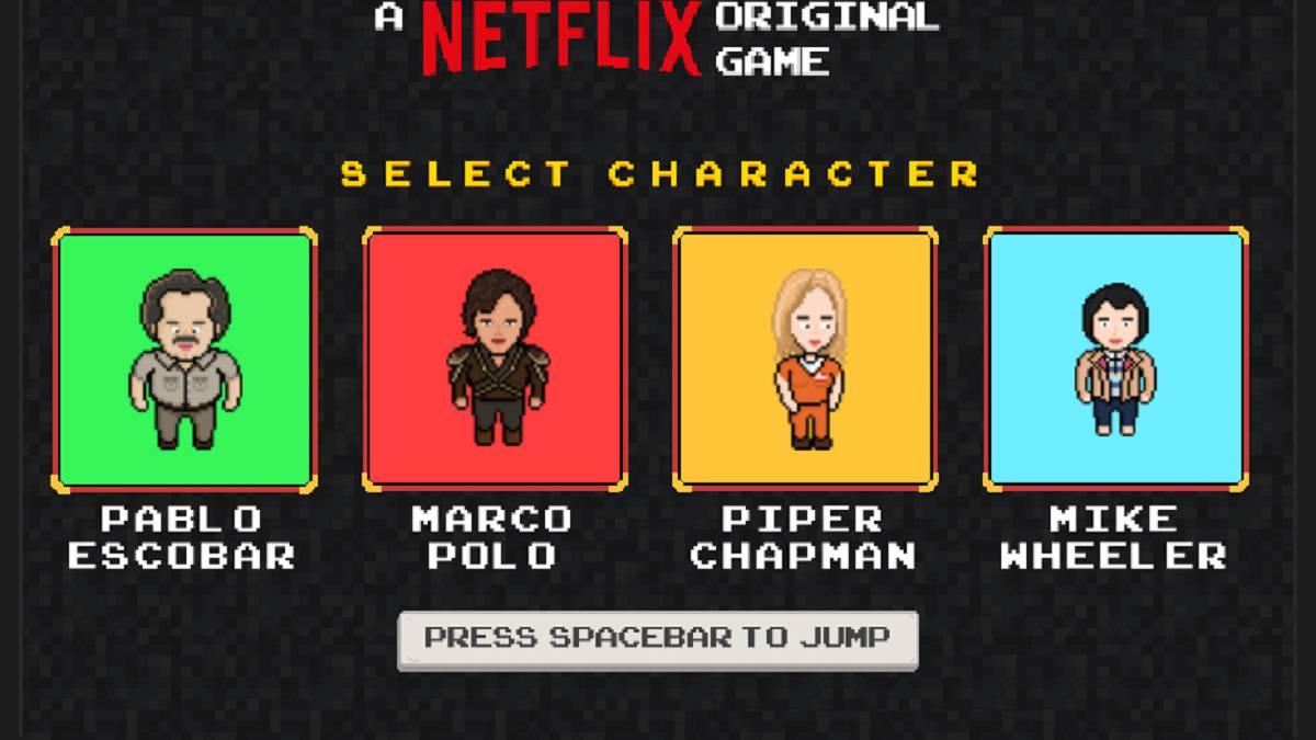 El juego arcade de Netflix en el que puedes ser Pablo Escobar