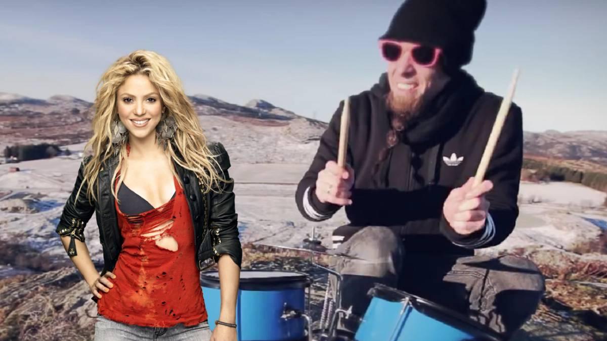 El músico que convierte el 'Waka Waka' de Shakira o Michael Jackson en Heavy Metal