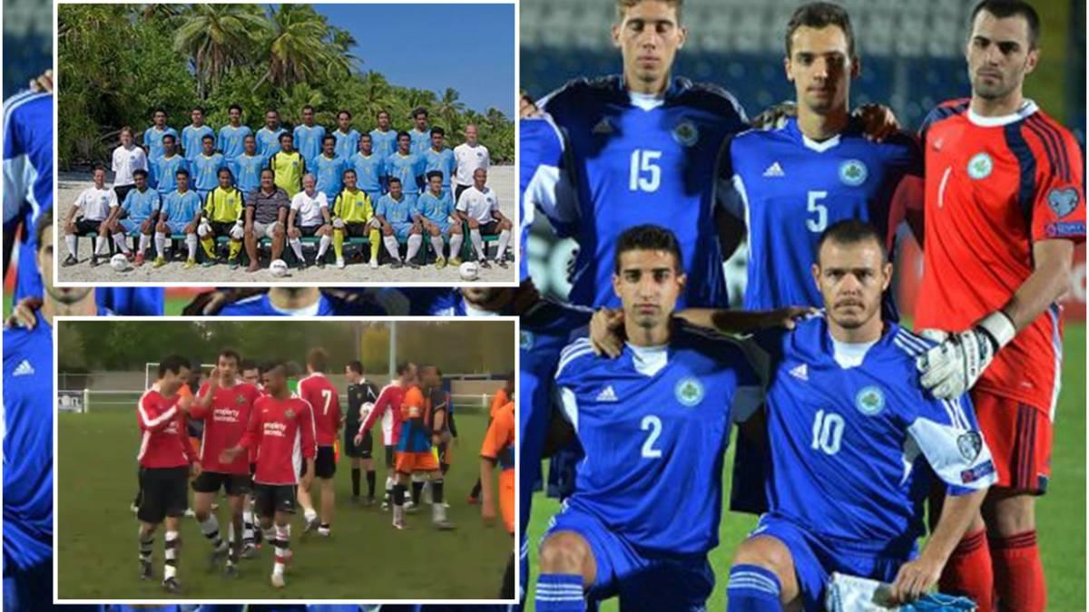 Selecciones de Fútbol equipos países más pequeños