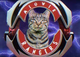 Antes de la nueva película de Power Rangers tienes que ver esta versión con gatos