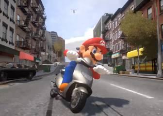 Super Mario ante su peor pantalla: el universo GTA