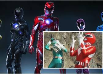 Te vas a sentir viejo cuando veas cómo han cambiado los Power Rangers