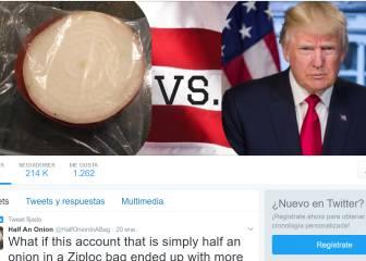 La media cebolla que aspira a ser el gran rival de Trump en Twitter