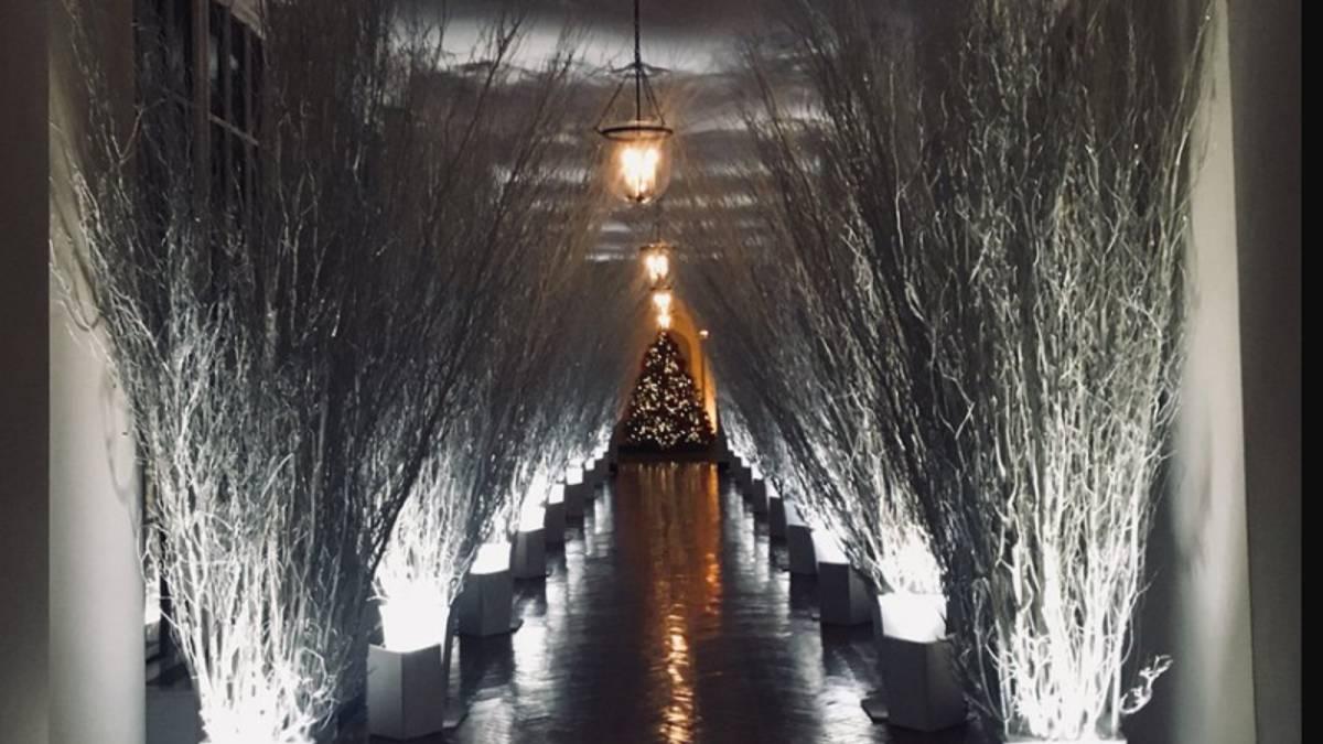 La decoración de Navidad de la Casa Blanca parece el \'Mundo del ...