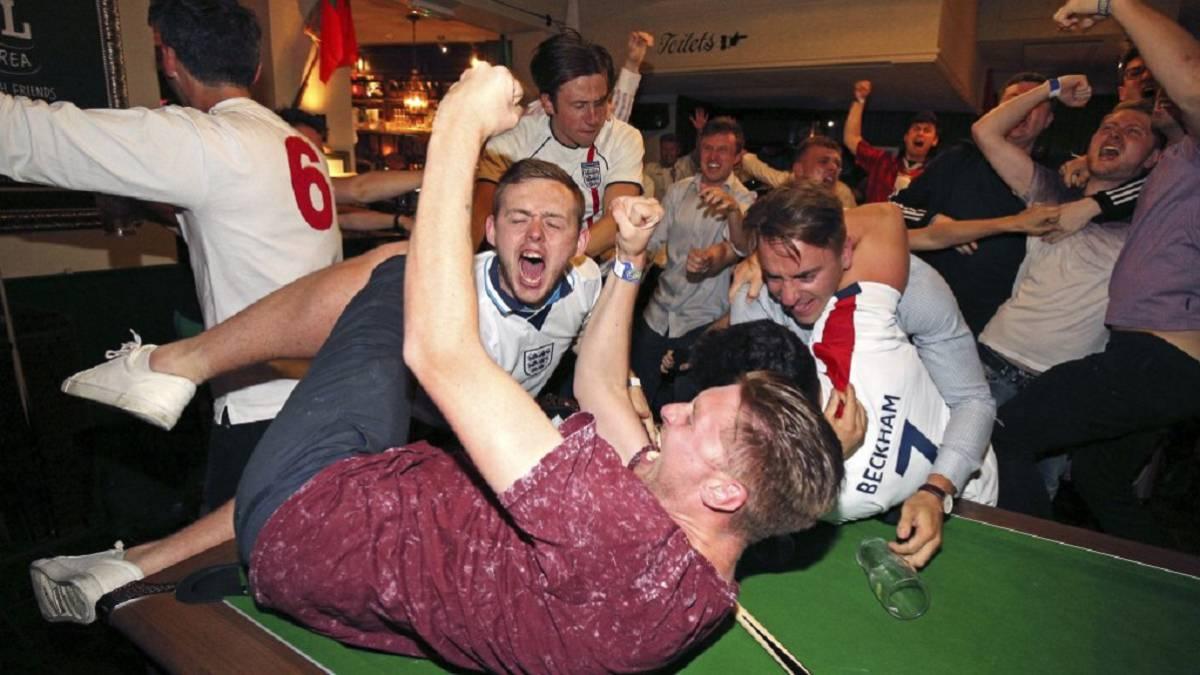 Inglaterra en el final