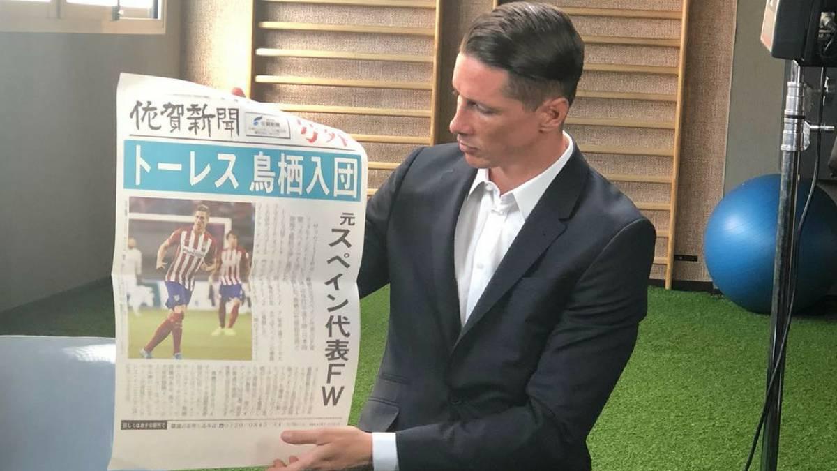 Fernando Torres desvela su próximo equipo: jugará en el Sagan Tosu japonés