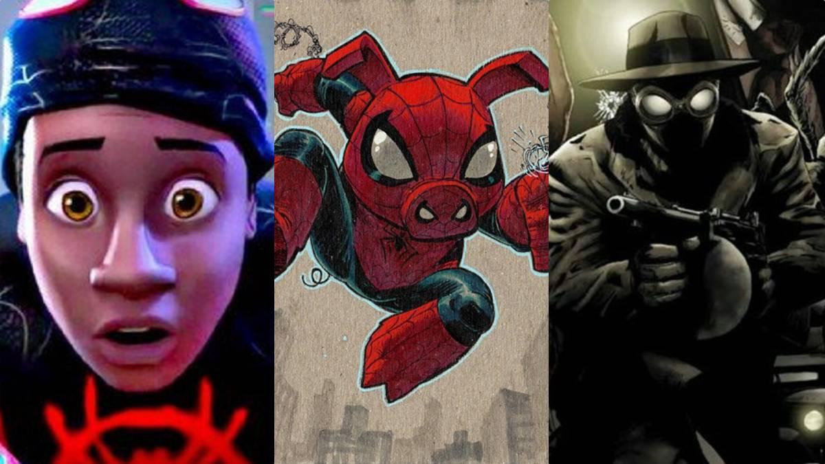 Spider Man Un Nuevo Universo Tendra Todas Las Versiones Del Hombre