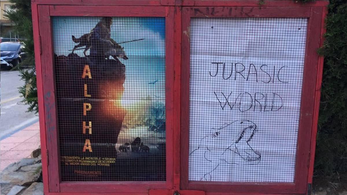 Jurassic World: el póster que emocionó al director de la película