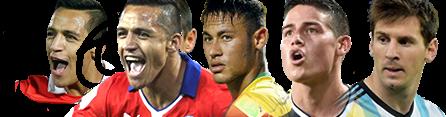 Figuras Copa América 2015