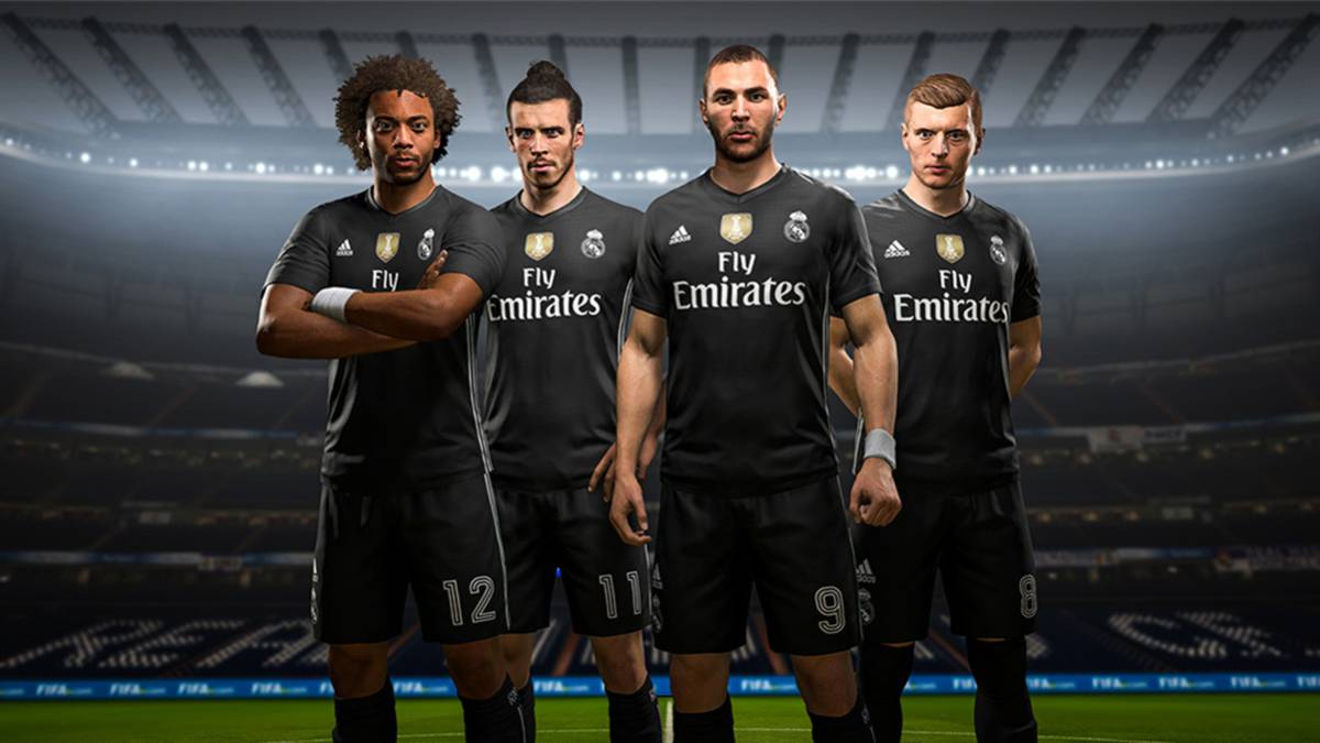 c76de12631f FIFA 18  Real Madrid fourth kit launched for EA Sports game