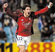 Iñaki Muñoz es el máximo goleador de esta Copa