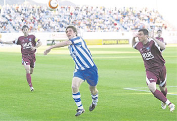 El Lleida sorprende a un Lorca que llegó a tocar el cielo