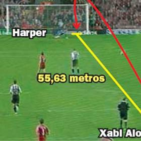 Xabi Alonso sentencia con un golazo desde su propio campo
