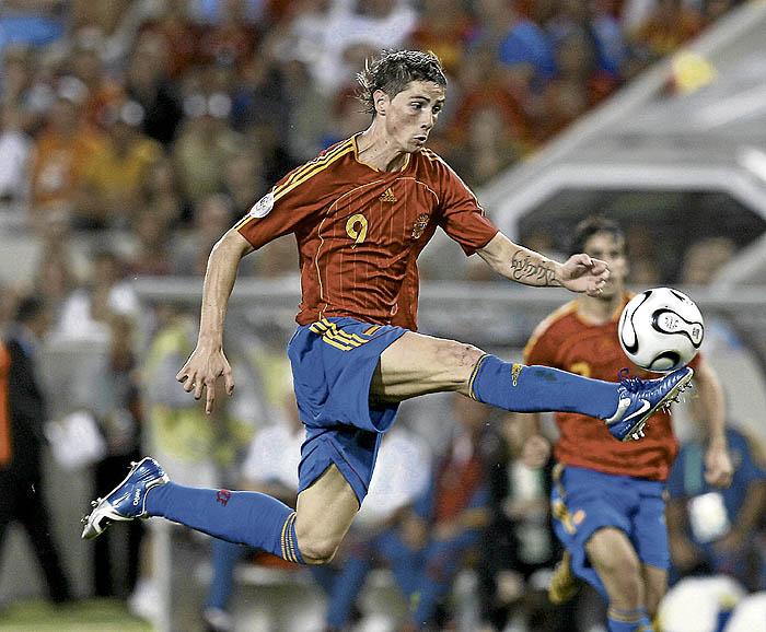 Sólo un español, Torres, en la lista del FIFA Player