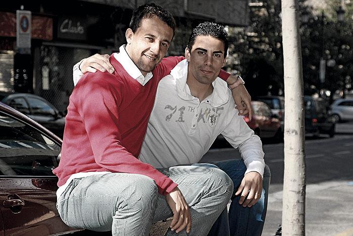 """César y Óscar, hijos de Pucela: """"Ojalá nos salvemos los dos"""""""