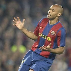 Champions | Barcelona 0 - Manchester 0 Thierry_Henry