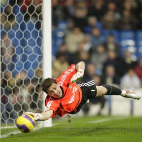 Iker Casillas top goalkeeper