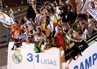 فيديو إحتفال ريال مدريد بالسيبيلس لموسم 2008