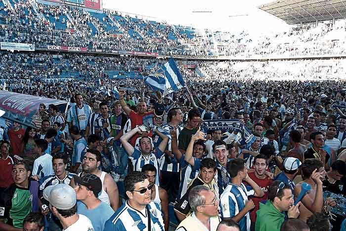 El Málaga vuelve al jardín de los ricos