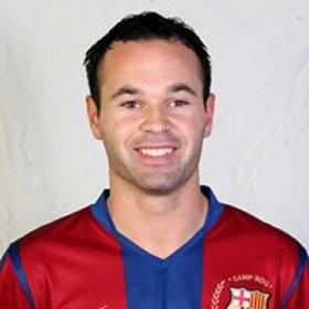 Andrés Iniesta Luján